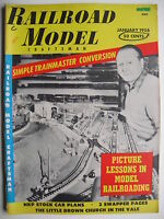 January 1956 RAILROAD MODEL CRAFTSMAN Magazine