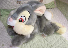 Disney Store Exclusive Bambi Gray Stuffed Thumper Bunny Rabbit Euc