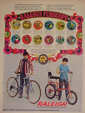 1971 Raleigh Chopper 3~Speed Boys Bicycles/Bike Memorabilia Photo Promo AD