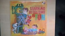 Disneyland Records from Walt Disney Studios LEARNING TO TELL TIME IS FUN LP 1969