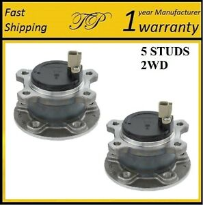 REAR Wheel Hub Bearing Assembly For 2014-2016 VOLVO S80 2WD (PAIR)