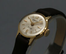 New Old Stock 50s tiny DUWARD KING 18K GOLD cokctail vintage MECHANICAL watch