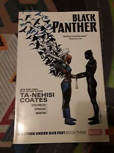 *BRAND NEW* Black Panther A Nation Under Our Feet Book 3 Marvel Comics SoftCover