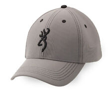 Browning Boone Hat Cap In Grey and Black 308149791