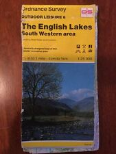 English Lakes Lake District South Western Ordnance Survey Outdoor Leisure Map 6