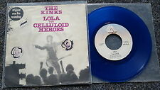 The Kinks - Lola 7'' Single BLUE VINYL Netherlands
