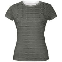 Halloween Chainmail Costume All Over Juniors T-Shirt