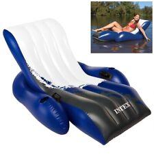 Colchoneta hinchable flotador para playa piscina Cómoda Sillón intex