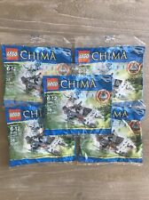 NEW Lego Chima Winzar's Pack Patrol 30251 Building Toy Set Polybag LOT of 5