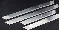 new Stainless Steel Door Sill Scuff Plate For KIA K2 Rio 2012 2013 2014 2015