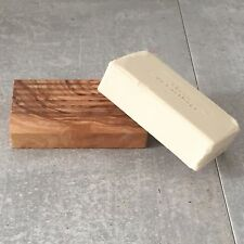 Soap Dish Olive Wood / Soap Holder / Soap Safer, rippled structure, handmade