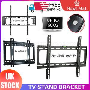 Slim TV Wall Bracket Mount For 32 40 42 50 55 60 65 70 Inch Plasma LED LCD