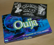 Ouija & Over The Hill Bingo   Lot Of Two Board Games