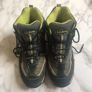 L.L Bean Tek 2.5 Wayerproof High Top Hiking Boots Womens Size 8.5 M