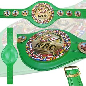 WBC World Boxing Champion Belt Adult Full Size Replica 3D Design Boxing Council