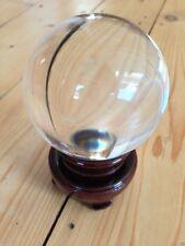 Bola De Cristal 8 Cm Con Soporte, skrying, Adivinación, esfera, Clarividencia