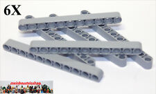 6X Lego® 32525 / 64290 Technic Liftarme Beams 1X11 neues Hellgrau NEU