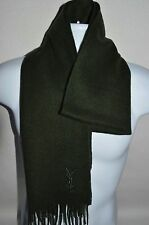 YSL YVES SAINT LAURENT Man's Scarf  Size 71in x 12.5in Made in ITALY Retail $250