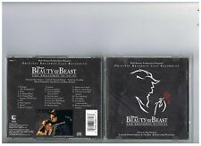 BEAUTY AND THE BEAST CD. ORIGINAL BROADWAY CAST MUSICAL
