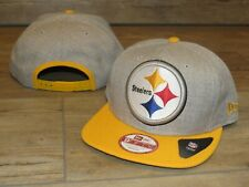 Pittsburgh Steelers New Era 9Fifty Big Time Logo Snapback Hat Cap Men's