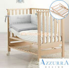 Lettino Azzurra Design Contact Naturale con rete antirigurgito bimbi infanzia