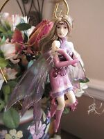 SALE Jessica Galbreth AMETHYST fairy figurine ornament Gemstone Fairy RETIRED!