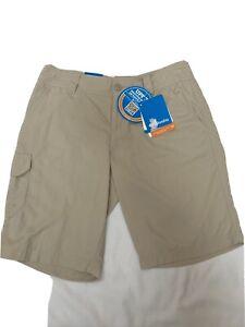 Columbia Omni-shade Upf30 East Ridge Womens Shorts Size 4