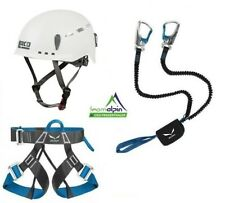 Klettersteigset Salewa Premium Attac + Salewa Evo Gurt + LACD Protector 2.0 Helm