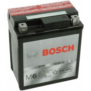 Batterie BOSCH YTX7L-BS pour Honda Sh c. -à- 150 2005-2010 12V 6 Ah Avec Acide