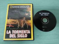 LA TORMENTA DEL SIGLO NATIONAL GEOGRAPHIC DVD ESPAÑOL ENGLISH