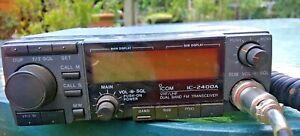 Vintage ICOM IC 2400A Dual Band Mobile FM Transceiver