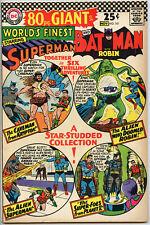 WORLDS FINEST #161 DC Comic VF+ 8.5 SUPERMAN BATMAN 1966 80 PAGE GIANT 28 CGC IT