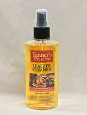 Genuine Tanner's Preserve Leather Cleaner Safe For All Finished Leather 65864