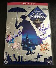 MARY POPPINS 40th Anniv. 2-Disc DVD signed by DICK VAN DYKE & RICHARD M. SHERMAN