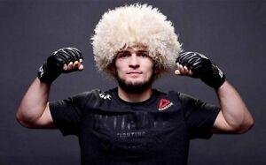 Hat like Habib Khabib Papakha Papaha made of natural sheepskin fur The Best