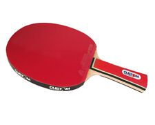 Custom Table Tennis Red Intermediate Table Tennis Bat + World No.1 Rubbers New