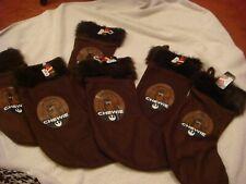 6 x Star Wars  Christmas  decoration Stockings Chewie