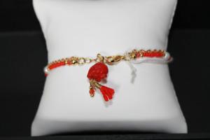 colored elephant charm bracelet 2H