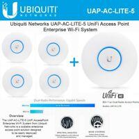 Ubiquiti UAP-AC-LITE-5 UniFi AP AC 5-Pack PoE Not Included International Version