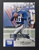 2015 Prestige #39 Eli Manning - NM-MT