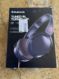 New Skullcandy Riff On-Ear Headphones With Microphone- Blue/Sunset