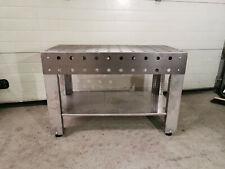 3D Schweißtisch 120kg Werktisch Montagetisch Stahl Edelstahl Beine Werkbank