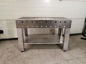 3D Schweißtisch 120kg Werktisch Montagetisch Stahl  Werkbank