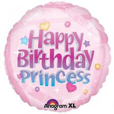 Happy Birthday Princess Foil Balloon Birthday Decoration Supplies