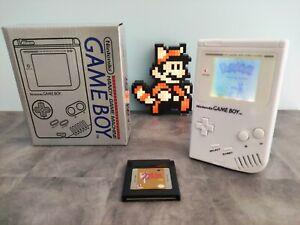 Nintendo Game Boy Dmg fat remise à neuf rétro éclairé en boîte et jeu Zelda