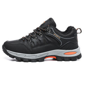 Men's Outdoor Sneakers New Low Top Warm Non-slip Breathable Hiking Shoes 39-48 L