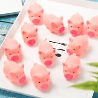 Dog Toys Pink Screaming Rubber Pig Cat Pets Toys Squeaker Chew Home Decorations