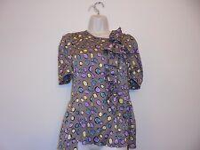 BCBG Max azria Brown Silk blouse size XS