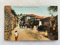 Salonika, a district of the upper town in Greece Vintage Postcard