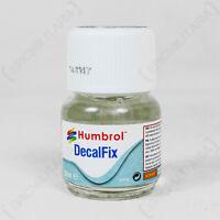 Humbrol DecalFix 28ml - Helmet Decal Modeling Glue Waterslide Adhesive Laquer
